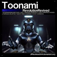 My Toonami CD Concept by JPReckless2444