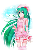 Hatsune Miku- Powder by GenericMav