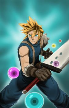 Cloud Strife by Dericules