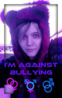 I'm Against Bullying by Mrky9263