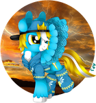 [MLP] Yellow Flash (PC) by Amberpon3