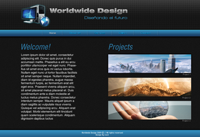 Web Layout by cestnms