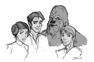 What if Disney had made Star Wars Doodle by Ihlecreations