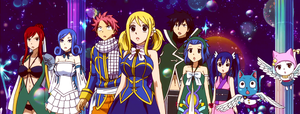 Fairy Tail in the Celestial World by KagomeChan27