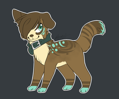 puppy adopt (CLOSED) [AUCTION] by Darkaiya