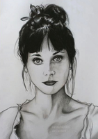 Zooey Deschanel by Xanachan90