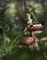 Fairies Wonderland by VisualPoetress