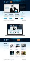 True Edge Media website by slovaczech