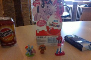 Kinder Surprise - MLP and Doggy by JB-Pawstep