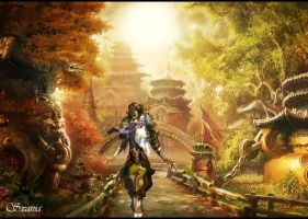 Blade and Soul Wallpaper by Sxania
