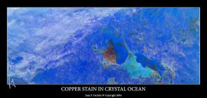 Copper Stain In Crystal Ocean by AmniosDesign