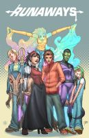 Runaways_one shot cover by FooRay