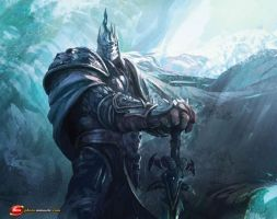 Lich king Arthas by xHeroess