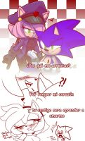 Amy police and sonic by nancher