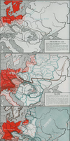 German historical maps by 19North95