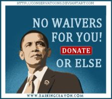 No Waivers for You by Conservatoons