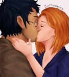 Older Harry and Ginny by batbobbles