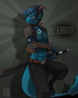 Commission: Leviathan Korevo by Lapres