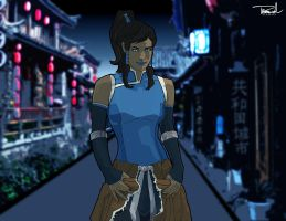 Avatar Korra by tsbranch