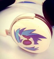 Custom DJ P0N-3 Headphones by anonymousnekodos