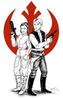 Fighting for the Rebel alliance by fafadibelo