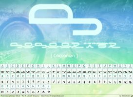 Cocoonian - FF13 Font by hechiceroo