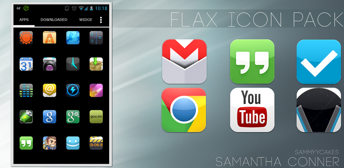 Flax Icon Pack by sammyycakess
