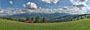 Tatra Mountains - HDR Panorama - 33 megapixels by matchieck