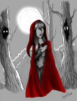 Red Ridding Hood by LedyRaven