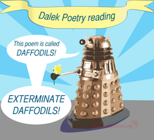Dalek Poetry reading by suki-red