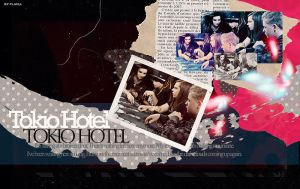 Tokio Hotel Collage by demolitionn