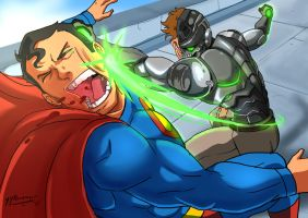 Commission SuperMan Vs Metallo by JazylH