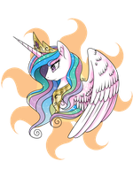 Princess Celestia by ToxicUnicorns