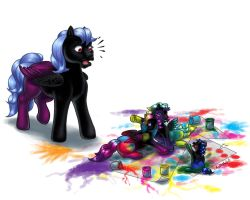 Fingerpaint madness by DarkDragon774