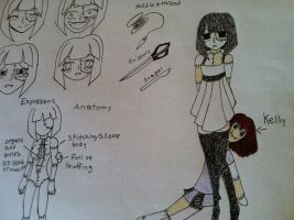 Oc Ref : Annabell The Doll Maker by Greeny-Star