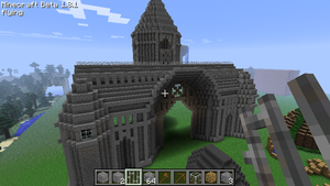 Minecraft Cathedral by HifeyNyan