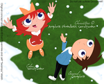 PnF2 - Let it snow -Digital- by sam-ely-ember