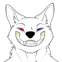Me smiling by creepsome