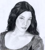 Arwen by EmberRoseArt