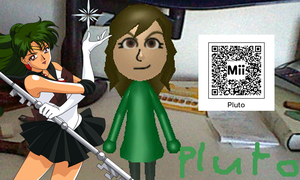Sailor Pluto QR Code by SonicPal