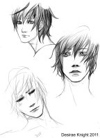 Alec Lightwood Sketch 1 by fluffys-inu
