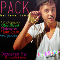 Pack Believe Tour by FixABieber