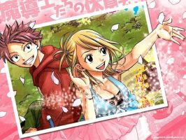 Fairy Tail's Awesome Couple! by EvelynMangaArt