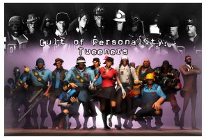[SFM] TF2 - Cult of Personality - Chapter 5 poster by LoneWolfHBS