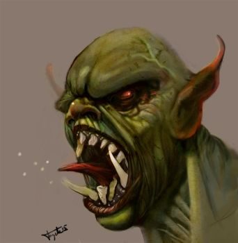 Orc by Tayete by tayete