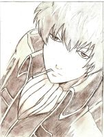Hijikata Toshiro by A-Black-Angel