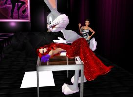 BugsBunny and Jessica Rabbit 05 by Mary-Margret