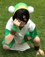 Typical Toph by MadameTerraLupus