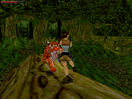 Tomb Raider III Screen Shot by SSX12345