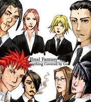 FF7: Everything Covered by God by Samletbird